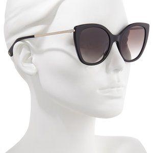 LONGCHAMP 52mm Gradient Cat Eye Sunglasses